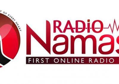 Radio Namaste : Radio/ News Portal Website