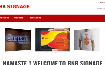 BnB Signage.com- An Authorized printing and designing company