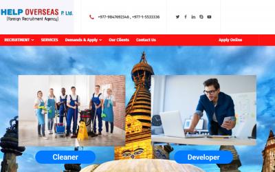 A FULL DYNAMIC Manpower Company Website