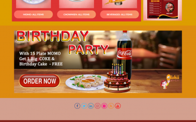 www.oishiimomo.com- E commerce Website